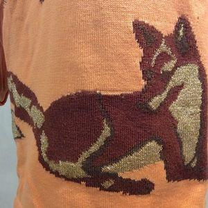 Escada Sweaters - Escada Fox Sweater